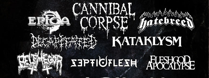 Cannibal Corpse And Decapitated Confirmed For Witchfest 2015
