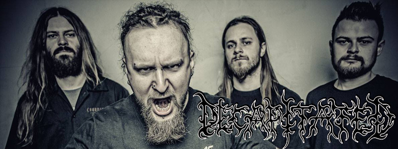 DECAPITATED Confirmed For Witchfest Open Air 2015
