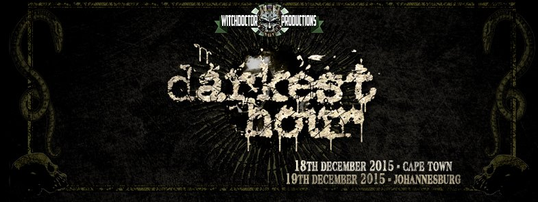 DARKEST HOUR To Tour SA In 2015
