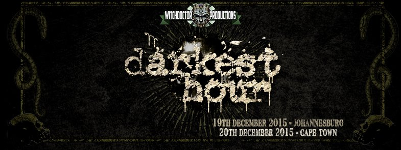 Cape Town – Darkest Hour Date & Venue Change – URGENT !