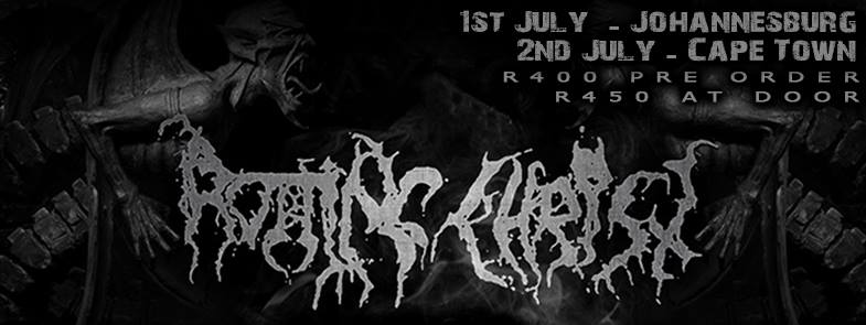 Rotting Christ SA Tour 2016