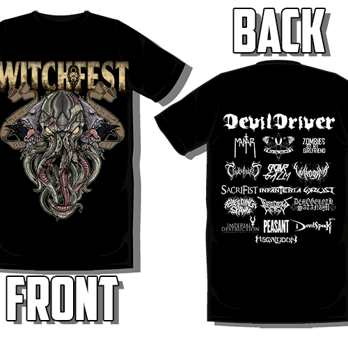 Witchfest 2017 – T Shirt – Colour