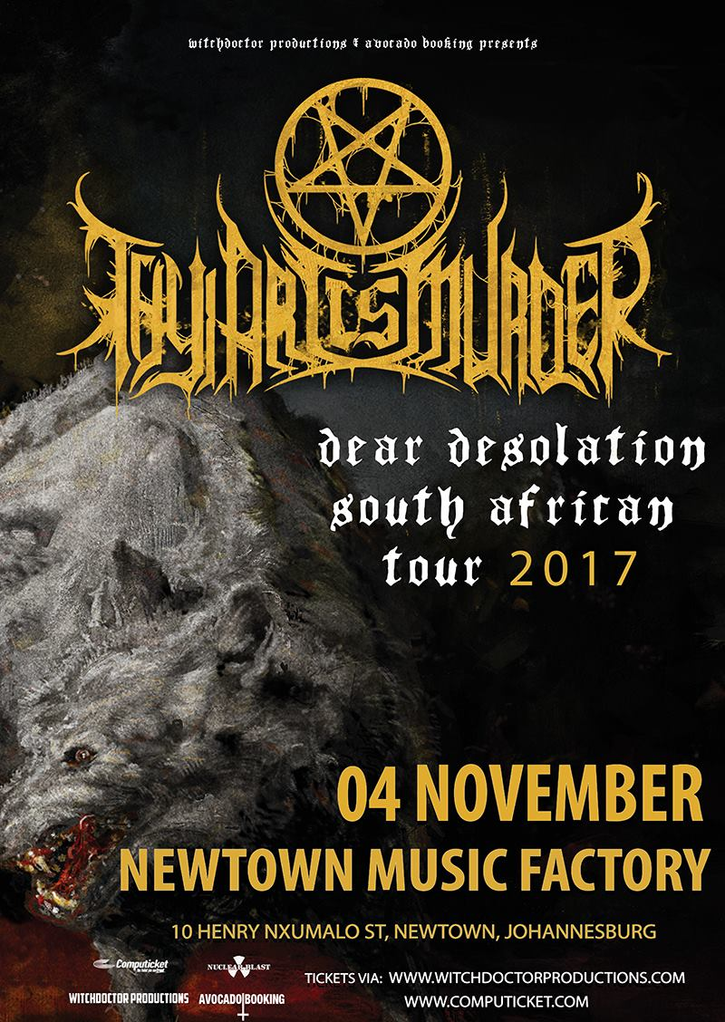 Thy Art Is Murder SA 2017