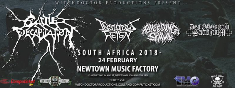 Cattle Decapitation Show Information